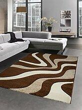 Carpetia Designer Teppich Wohnzimmerteppich Wellen
