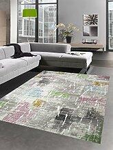 Carpetia Moderner Teppich Kurzflor Teppich