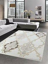 Carpetia Moderner Teppich Wollteppich mit