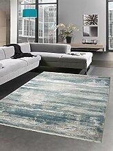 Carpetia Moderner Teppich Wollteppich Vintage