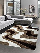 Carpetia Shaggy Teppich Hochflorteppich mit