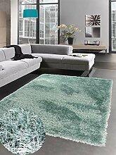 Carpetia Shaggy Teppich Hochflorteppich Uni