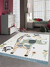 Carpetia Teppich Kinderzimmer Babyzimmer Zootiere