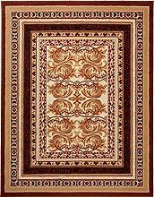 Carpeto Klassisch Teppich Braun 220 x 300 cm