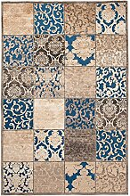 Carpeto Orientteppich Teppich Türkis 160 x 230 cm