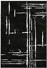 Carpeto Rugs Kurzflor Teppich - für Wohnzimmer,