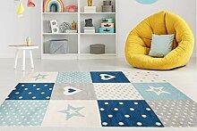 Carpeto Rugs Teppich Kinderzimmer Junge Mädchen -
