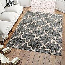 Carpeto Shaggy Hochflor Teppich Bettvorleger -