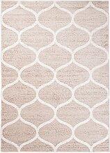 Carpeto Teppich Modern Beige 160 x 220 cm