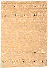 CarpetVista Gabbeh Loom - Beige Teppich 160x230