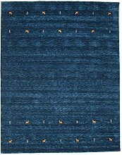 CarpetVista Gabbeh Loom - dunkelblau Teppich