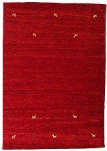 CarpetVista Gabbeh Loom - dunkelrot Teppich