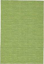 CarpetVista Kelim loom - grün Teppich 140x200