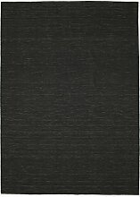 CarpetVista Kelim loom - Schwarz Teppich 250x350