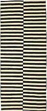 CarpetVista Kelim Modern Teppich 156x375 Moderner,