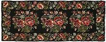 CarpetVista Kelim Rosen Teppich 164x420