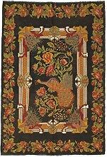 CarpetVista Kelim Rosen Teppich 176x256