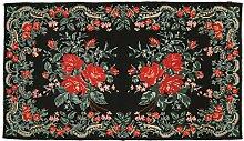 CarpetVista Kelim Rosen Teppich 196x326