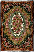 CarpetVista Kelim Rosen Teppich 241x372