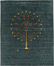 CarpetVista Loribaf Loom Designer - Petrol Teppich
