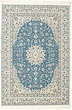 CarpetVista Nain Emilia - hellblau Teppich 160x230