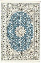 CarpetVista Nain Emilia - hellblau Teppich 200x300