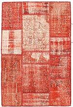 CarpetVista Patchwork Teppich 101x154 Moderner