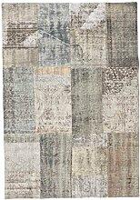 CarpetVista Patchwork Teppich 140x201 Moderner