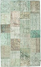 CarpetVista Patchwork Teppich 151x247 Moderner