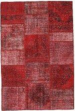 CarpetVista Patchwork Teppich 156x234 Moderner