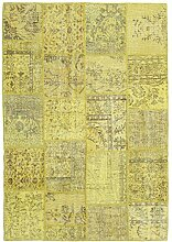 CarpetVista Patchwork Teppich 158x230 Moderner