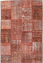 CarpetVista Patchwork Teppich 158x234 Moderner