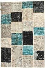 CarpetVista Patchwork Teppich 158x236 Moderner