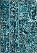 CarpetVista Patchwork Teppich 159x231 Moderner