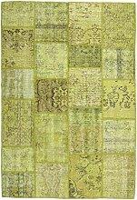 CarpetVista Patchwork Teppich 159x232 Moderner
