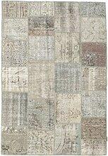 CarpetVista Patchwork Teppich 160x231 Moderner