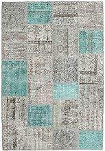 CarpetVista Patchwork Teppich 160x232 Moderner