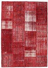 CarpetVista Patchwork Teppich 161x222 Moderner