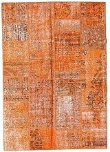 CarpetVista Patchwork Teppich 161x227 Moderner
