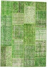 CarpetVista Patchwork Teppich 161x229 Moderner