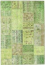 CarpetVista Patchwork Teppich 161x235 Moderner