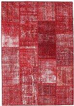 CarpetVista Patchwork Teppich 162x235 Moderner