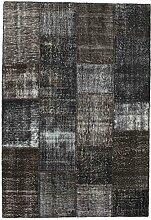 CarpetVista Patchwork Teppich 162x237 Moderner