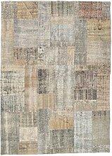CarpetVista Patchwork Teppich 173x240 Moderner