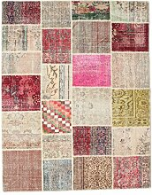 CarpetVista Patchwork Teppich 197x251 Moderner