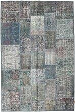 CarpetVista Patchwork Teppich 198x300 Moderner