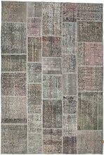 CarpetVista Patchwork Teppich 200x298 Moderner