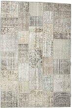 CarpetVista Patchwork Teppich 200x302 Moderner