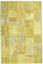 CarpetVista Patchwork Teppich 200x304 Moderner