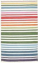 CarpetVista Rainbow Stripe - Weiß Teppich 180x280
